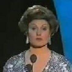 Eurovision Song Contest 1977: presenter Angela Rippon