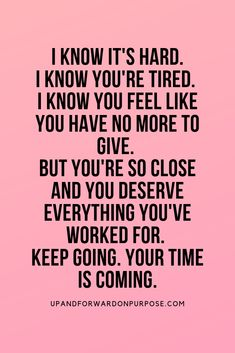 7 reasons not to give up when you're feeling down, defeated and like your dreams are not coming to life. Your time is coming if you just keep going. Positive Affirmations Quotes, Affirmation Quotes, Words Of Encouragement, Positive Quotes, Motivational Quotes, Inspirational Quotes, Self Love Quotes, Great Quotes, Words Quotes