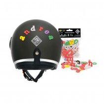 Letters&Co Scooter Helmet, Bicycle Helmet, Letters, Cycling Helmet, Letter, Lettering, Calligraphy