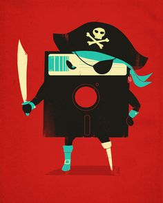 """""""Software Pirate"""" by Jay Fleck"""