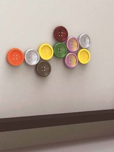 Button designer radiator: a funky radiator with a button shape. It fits any modern and extravagant room interior as well as children's rooms.