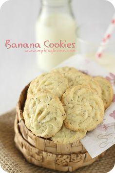 Banana Cookies...