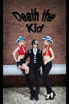 Soul Eater cosplay (Death the kid) Thats awesome !