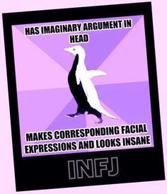 Sad, but True! INFJ, facial expressions and hand gestures Infj Mbti, Intj And Infj, Infj Type, Thats The Way, That Way, Thing 1, Infj Personality, Nerd, Humor
