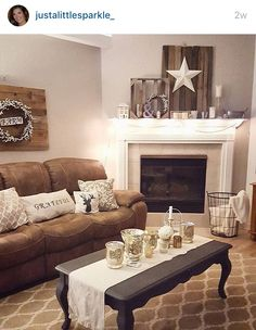 Rustic Country Cottage Style Living Room Decor
