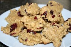 Cranberry Cornmeal Cookies Reduced Sugar