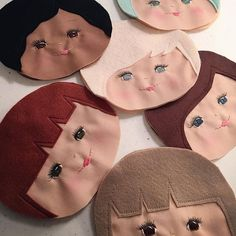 Makin faces #dollmaking #dollmaker #comingsoon #makingfaces #theariacollection