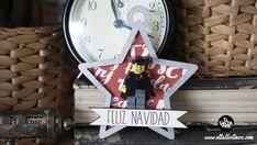 Lego , lego diy, figuras lego, decoracion lego, regalos con lego ... Lego Lego, Bottle Opener, Advent Calendar, Holiday Decor, Wall, Diy, Home Decor, Lego Christmas, Merry Christmas