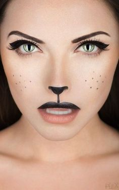 @lauramay213 you should totally do this cat look for Halloween!! Your bright blue eyes would look insane!