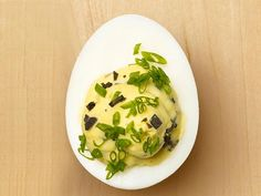 A shot of truffle oil ensures that these Truffled Deviled Eggs are sophisticated.