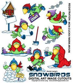 SnowBirds Cutoutshttp://anniethingspossible.stores.yahoo.net/christmas.html