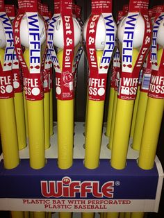 Wiffle balls and bats-endless hours of outdoor fun for kids of all ages! Activity Games, Activities, Wiffle Ball, Outdoor Fun For Kids, 1970s Childhood, Spring Party, Sports Clubs, Niece And Nephew, The Good Old Days
