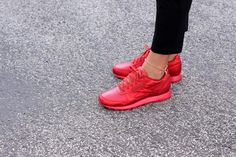 Reebok x Face Stockholm Classic Leather Fashion Red