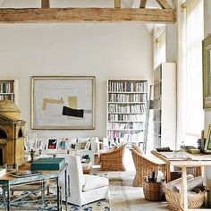 the rooms of Hubert de Givenchy. Here, Le Jonchet.