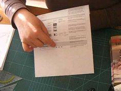 Heute zeigen wir Ihnen, wie Sie Bücher falten. Durch die so genannte Orimoto Technik lassen sich verschiedene Objekte herstellen! Quick Crafts, Diy And Crafts, Paper Crafts, Sewing Tutorials, Sewing Projects, Book Page Crafts, Book Folding, Simple Bags, Book Pages