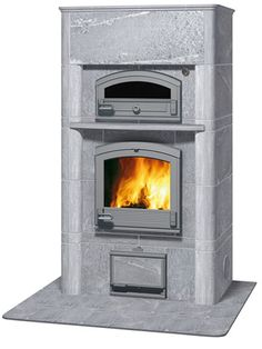 Find out all of the information about the TULIKIVI product: wood heating stove / soapstone / traditional / 20 kW AKKO.