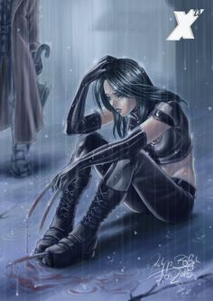Blood, Tears and Rain by Abbadon82.deviantart.com on @deviantART