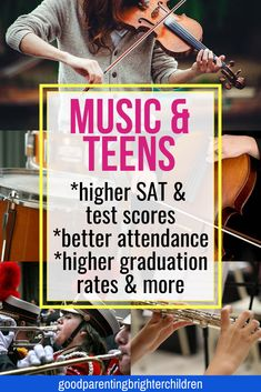 Did you know that teens who play musical instruments are more prepared for the rigors of college? They are more responsible and creative and better at problem-solving. Here are 6 ways to use music to prepare your teen for college and beyond. Music Activities For Kids, Brain Activities, Music For Kids, Music Education Lessons, Music Lessons, Gifted Education, Special Education, Homeschool High School, Homeschool Kindergarten