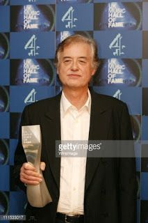 MAGE MUSIC: On This Day14 November 2006 Jimmy Page at UK Music Hall of Fame