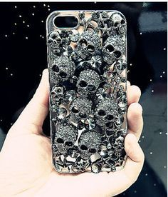 Retro punk style Iphone case