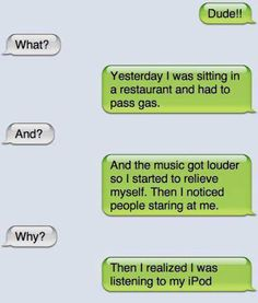 The Web Babbler: Funny Texts #56