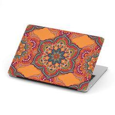 Ornamental Orange Heaven McBook Case – This is iT Original Mac Book Air Case, Macbook 12, Custom Design, Mandala, Heaven, Ornaments, Orange, The Originals, Unique