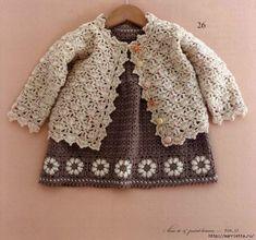 Одежда крючком для детей до 12 месяцев. Японский журнал