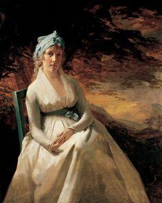 Sir Henry Raeburn(Scottish,1756–1823),Portrait of Mrs. Andrew (Elizabeth Robinson) Hay,ca. 1795  Joslyn Art Museum