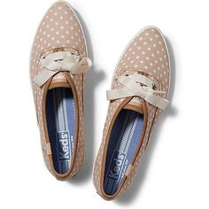Keds khaki polka dot pointed sneakers - from 2014