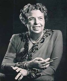 Eleanor Roosevelt--vision of inspiration!  #trustyourjourney #inspirational