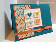 Pretty Petites Modern Valentine by stampenvy - Cards and Paper Crafts at Splitcoaststampers