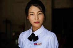 """Photographer Mihaela Noroc has been traveling around the world documenting women's beauty for her """"Atlas of Beauty"""" photo series. For the most recent leg of her journey, she decided to focus exclusively on the women of North Korea."""