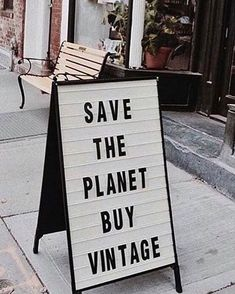save the planet buy vintage Fast Fashion, Slow Fashion, Ethical Fashion, Hand Quotes, Vintage Quotes, Moda Vintage, Tips & Tricks, Save The Planet, Fashion Quotes