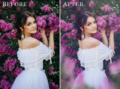 Dreamy Lilac photo overlays from Brown LeopardBrown Leopard