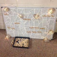 Creative Prayer Station with Scrabble Tiles. Prayer Service, Worship Service, Prayer Room, Prayer Prayer, Prayer Ideas, Prayer Ministry, Youth Ministry, Lent Prayers, Prayer For Church