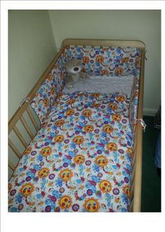 Baby Cot Bumper and Duvet Cover