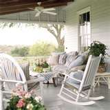 Great seating for a porch so you can really relax and enjoy!