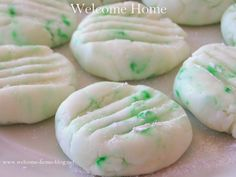 Welcome Home Blog: Cream Cheese Mints