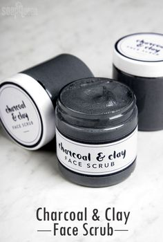 DIY: cleansing charcoal facial scrub