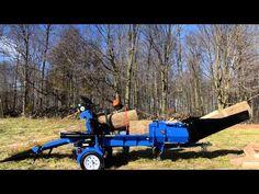 Wallenstein WP Fire Wood Processor Series - Wallenstein Outdoor Power Equipment Made in Canada