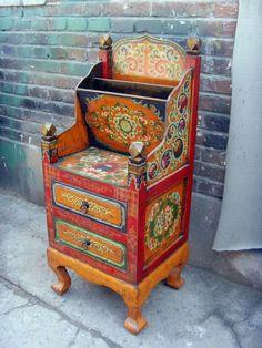 Muebles auxiliares chinos tibetanos