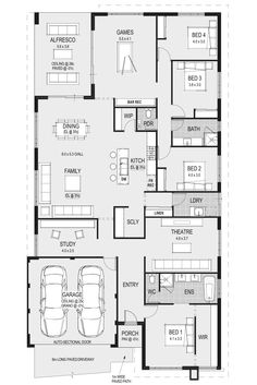 The Florence floorplans