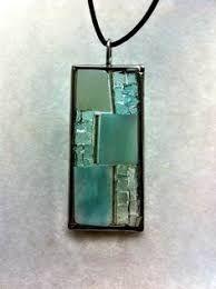 Resultado de imagen para Mosaic glass pendants - earrings