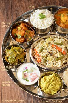 Aloo paratha in telugu indian food pinterest food simple telugu bhojanam telugu thali from telangana forumfinder Image collections