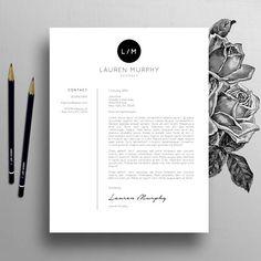 Modèle de CV créatifs modèle de CV lettre références Mac