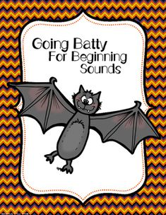 This is a FREE beginning sounds worksheet that is bat themed. This is great for morning work, or you can laminate it and put it in a center!All I ask in return for this Bat worksheet is that you rate and leave a comment on the product! :)As always, thank you so much for your support!