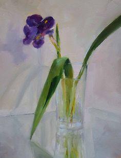 """Una pintura al día: """"Iris"""""""