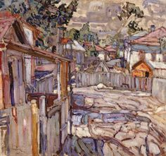 Abraham Manievich. Russian Painter, Active in America (1881-1942)