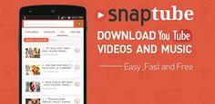 SnapTube - YouTube Downloader HD Video v3.1.2.8121 final  Jueves 01 de Octubre 2015.By : Yomar Gonzalez ( Androidfast )  SnapTube - YouTube Downloader HD Video v3.1.2.8121 final Requisitos: 2.1  Información general: SnapTube - Los videos downloader y música más fácil de YouTube. DESCARGAR EN VARIAS RESOLUCIONES Videos MP4 están disponibles en las resoluciones: elegir el pequeño tamaño de 360 píxeles o la alta definición de 720 píxeles. DESCARGAS MP3 DIRECTOS Descargar cualquier video musical…