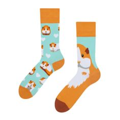 Guinea Pig Accessories, Angel And Devil, Pug Life, Good Mood, Gift For Lover, Guinea Pigs, Socks, Design, Hosiery